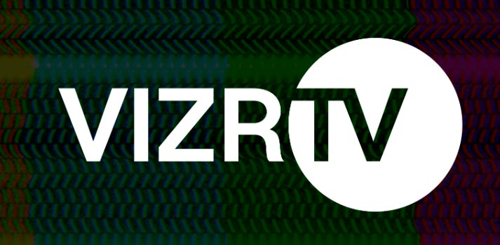 Logo of VizrTV new communication platform
