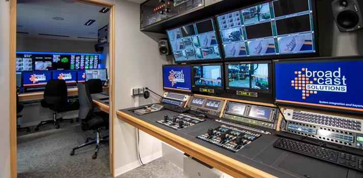 WDR's newest OB Van with Broadcast Solutions equipment