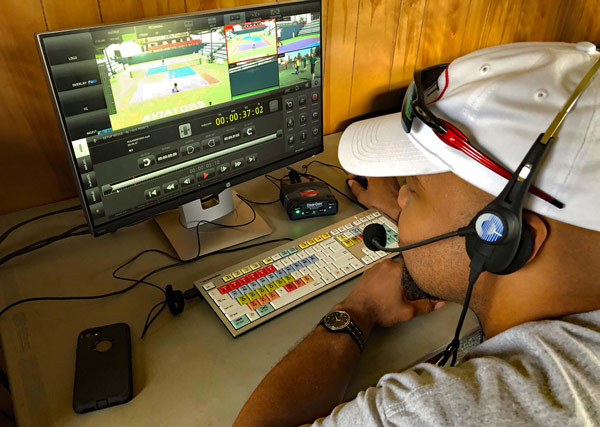 ProHD STUDIO 4000s system deployed in the World Team Tennis Championship