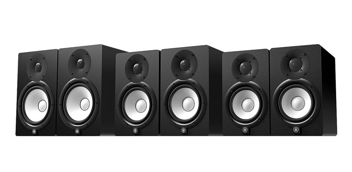 Devices included in the latest edition of Yamaha HS Series
