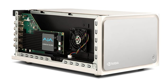 AJA's software development to support NVIDIA Jetson and Clara AGX