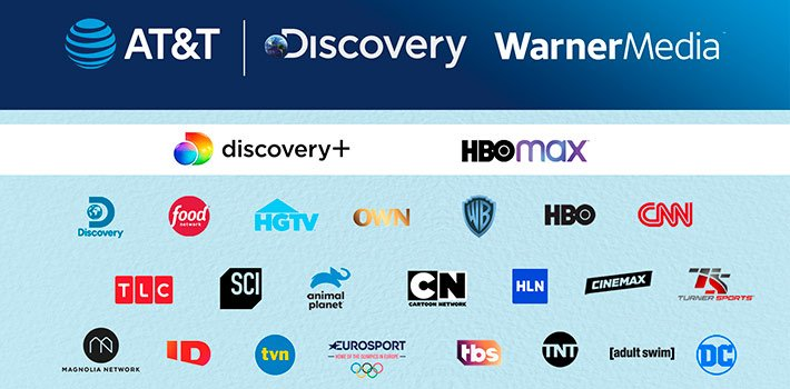AT&T's Warner Media and Discovery merges its media and entertainment assets