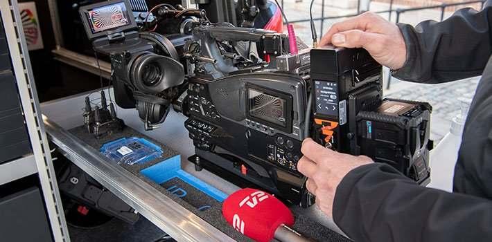The Aviwest technology equips the SNG and IP Vans from the Danish network TV2