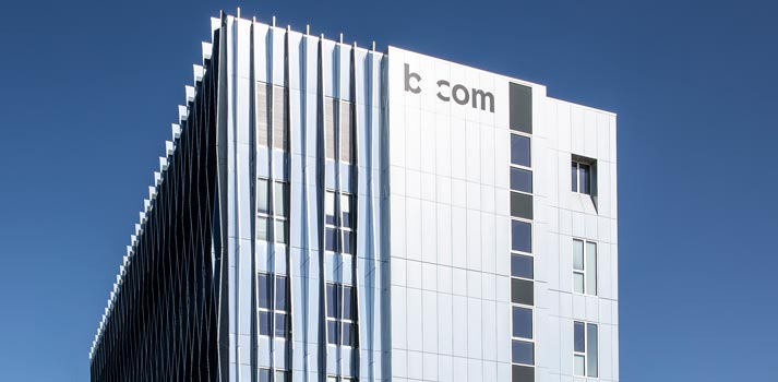 Bcom campus. Pic by Fred Pieau