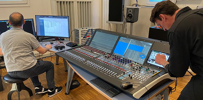 Lawo mc²36 to provide Audio-over-IP solutions in BH music productions