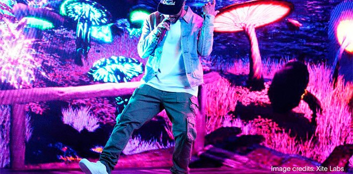 Disguise and Unreal Engine powers Bryson Tiller's livestream concert