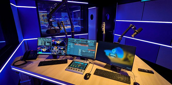 L1 equips its studios with DHD Audio Consoles