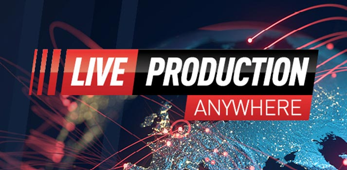 "EVS art of its vision ""Live Production Anywhere"""