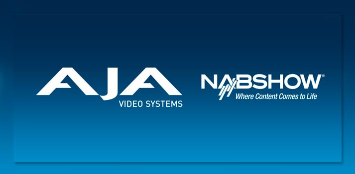 Logo AJA Video System and NABShow