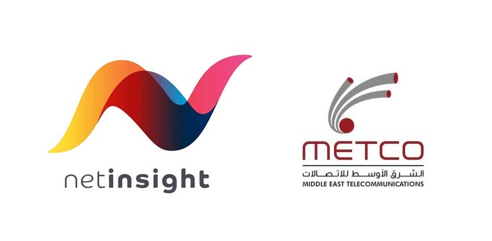 Logos of Net Insight and Metco