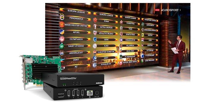 Quadhead2go to boost Chyronhego videowall offer