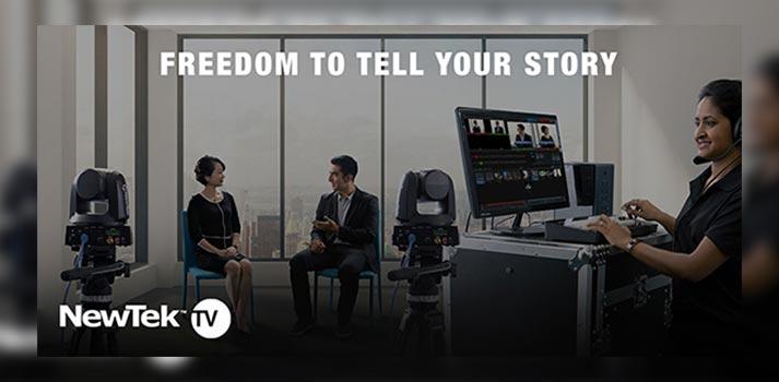 Promotional pic of NewTek TV