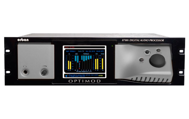 orban 8700i Audio Processor