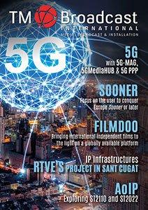 5G in TM Broadcast Magazine