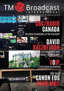 CBC Canada in TM Broadcast Magazine