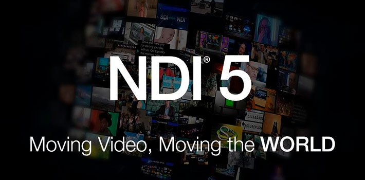 NDI has released NDI Version 5 update. It allows on cloud video connection and transmission from any location, enabling remote video production workflows.