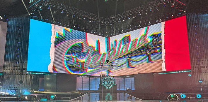 The NFL Draft picks up TVU for its live video distribution
