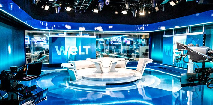 Welt relies on Vizrt to equip its news studio and production infrastructure