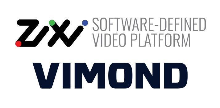 Logos of Zixi and Vimond